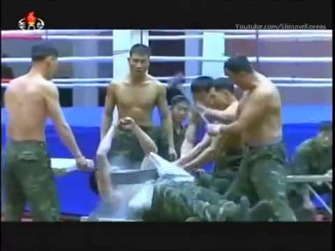 DPR Korea Special Forces Training - Korean People's Army