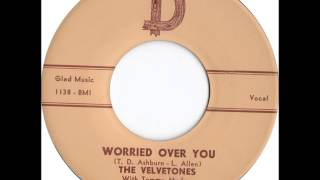 Velvetones With Tommy Hudson & The Savoys - Space Men - D 1072 - 1959