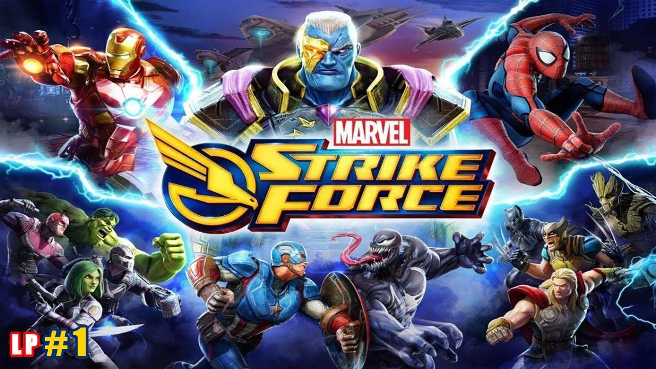 MARVEL Strike Force lp #1 Спасаем Героев из плена Кингпина, открываем Человека-Паука и Люка Кейджа