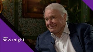 David Attenborough on the future of the planet - BBC Newsnight