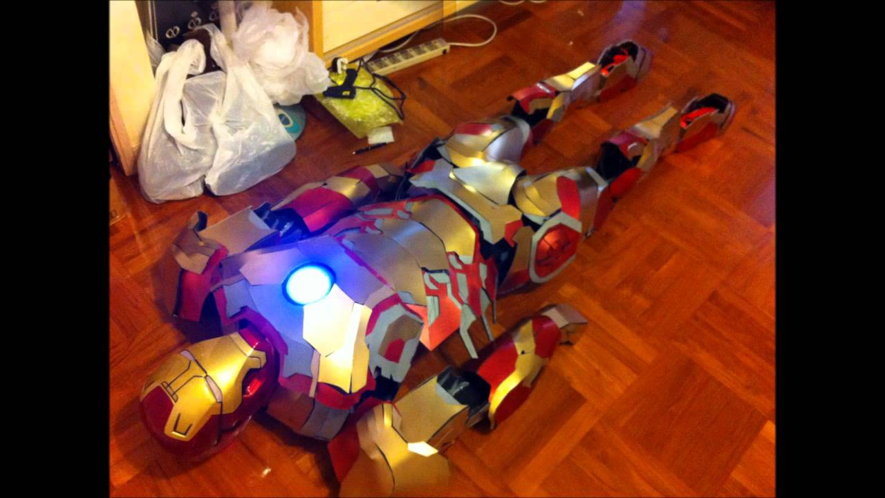 Iron Man 3 Mark 42 suit - YouTube