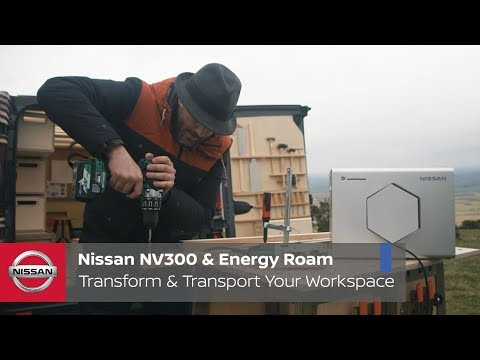 Nissan NV300 Concept Van with Energy Roam: Transform and Transport Your Workspace