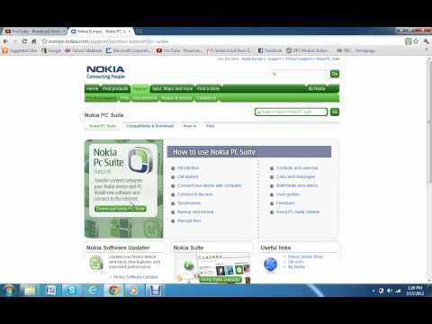How To Download Nokia Pc Suite