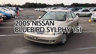 2005 nissan bluebird sylphy 15I