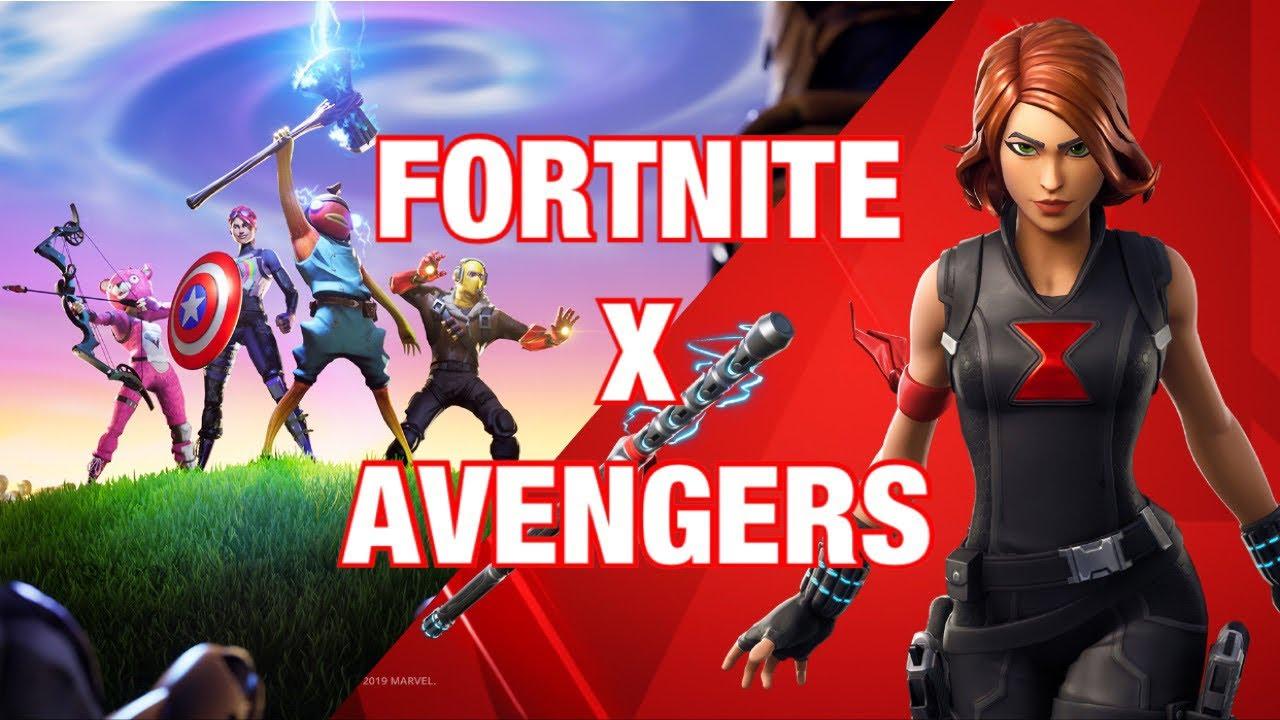 fortnite endgame fortnite x avengers  youtube