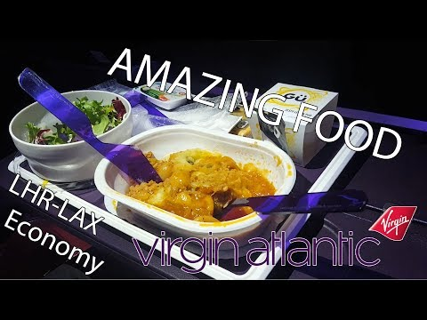 FlyWithMe! | FLIGHT REPORT | London to Los Angeles | Virgin Atlantic ECONOMY 787 DREAMLINER