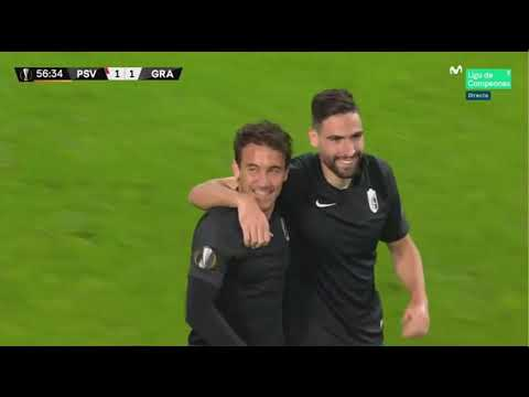 PSV 1-2 GRANADA/ GOLES/EUROPA LIGA