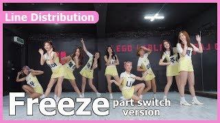Freeze Momoland Part Switch Ver LINE DISTRIBUTION