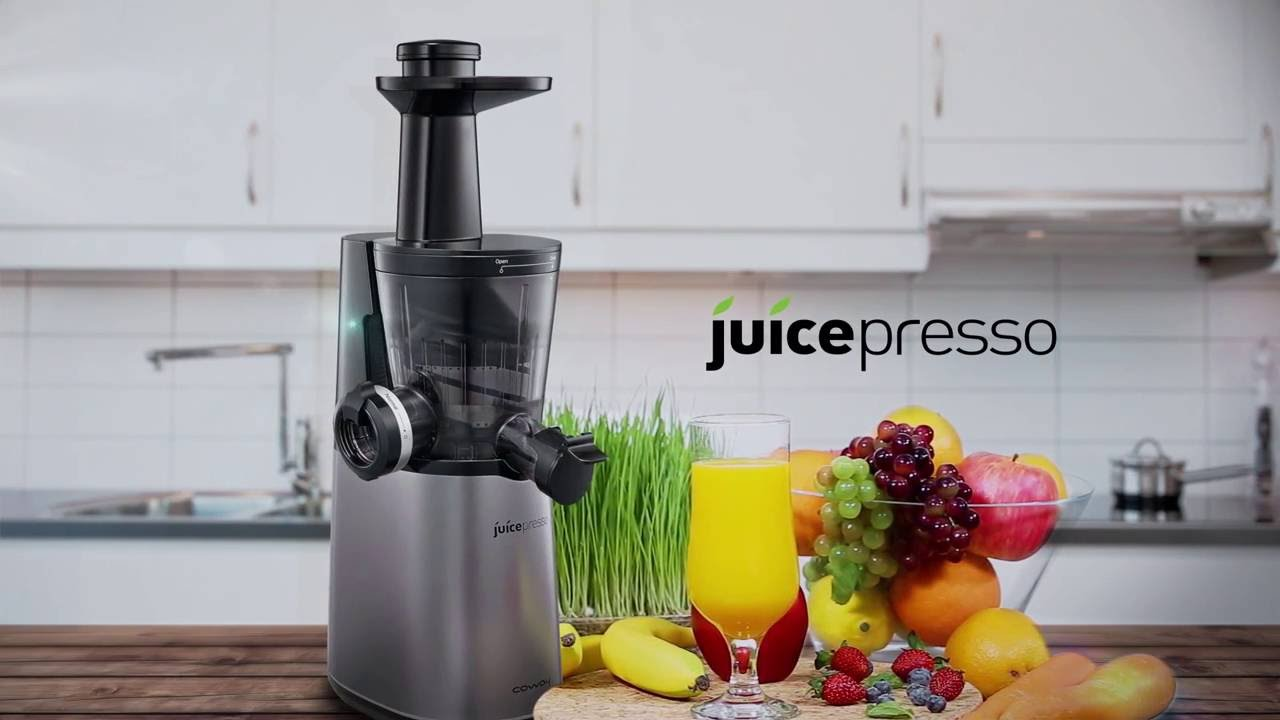 Coway Slow Juicer Cjp 05 : Multifunctional Slow Juicer: Prism CJP-05 - YouTube