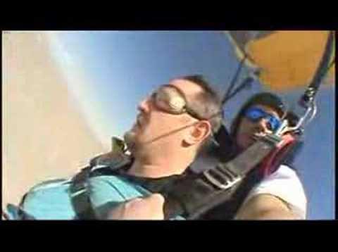 Shane's Wedding Skydive
