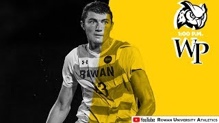 2018 Rowan Men's Soccer vs. William Paterson   9/15/18