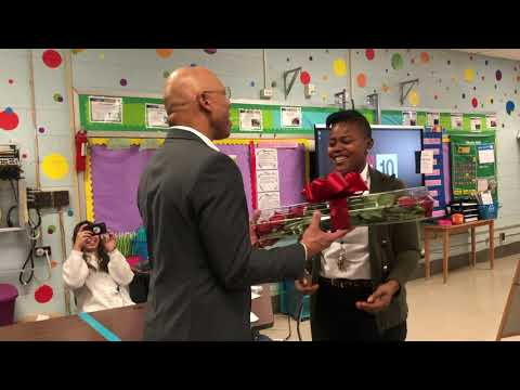 October Teacher of the Month | Marcel Reynolds, Frankford High School
