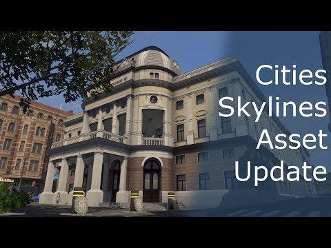 [Cities Skylines Asset] Slovak National Theatre