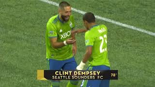 SCCL 2018: Seattle Sounders vs CD Guadalajara Highlights