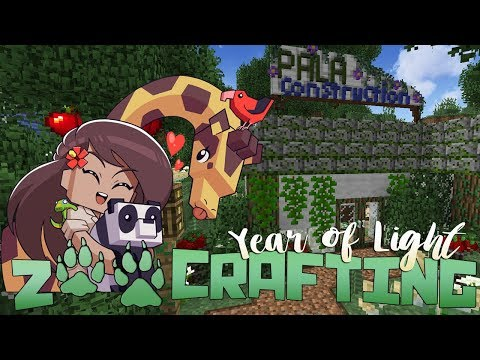 The Mysterious Construction Crew!! 🐾🌿 Zoo Crafting: Year of Light • #2