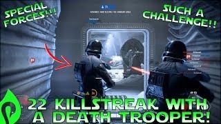 22 Killstreak With A Death Trooper In Star Wars Battlefront 2