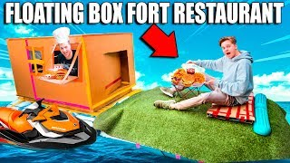 FLOATING BOX FORT RESTAURANT ON WATER