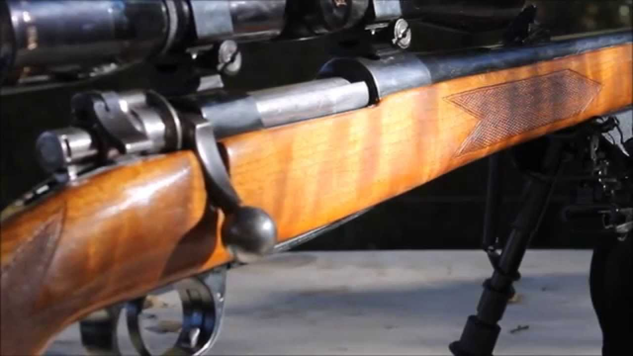 Golden State Arms 30 06 With Mauser Action Youtube