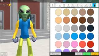 How to Look Like An Alien In Roblox (robloxian high school)