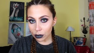 """Grunge Makeup   Catrina """"Dia de los Muertos"""" Lasplash"""