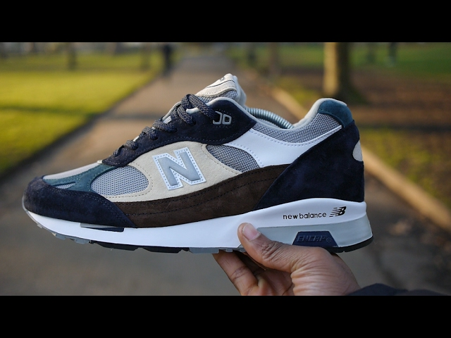New Balance 991.5 Review & On Feet (Surplus Pack) - YouTube
