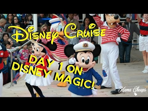 Disney Cruise Vacation 2016 | Day 1 | Boarding Disney Magic | Tour | Halloween NYC