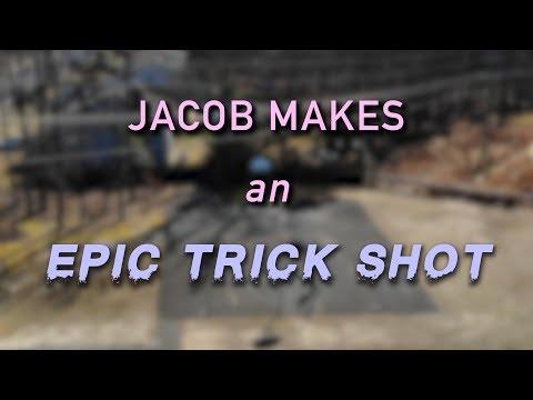 Jacob Makes An EPIC Trick Shot.