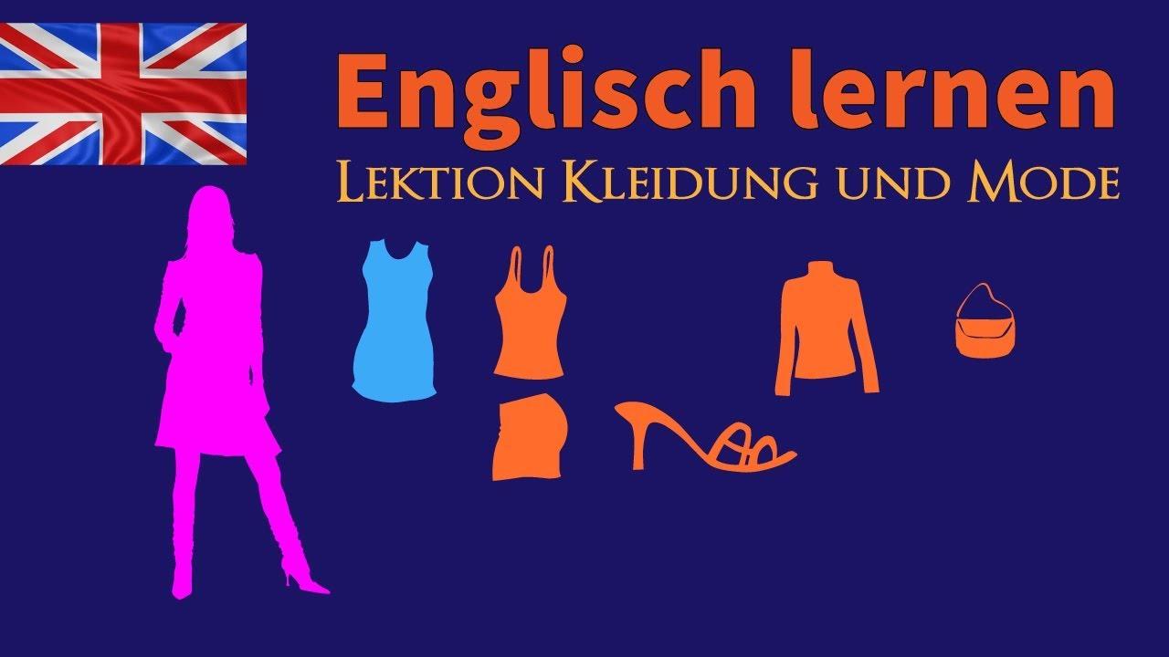 Kleid tragen englisch