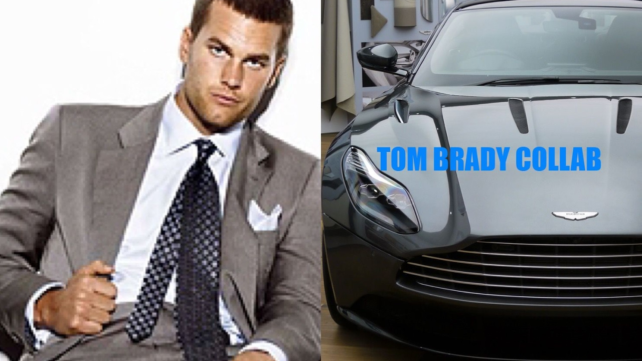 tom brady and aston martin collaboration coming soon - youtube
