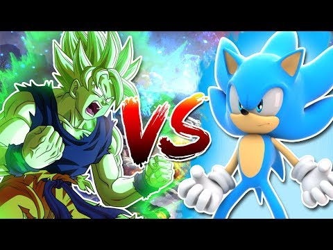 Legendary Super Saiyan Goku Vs Super Sonic Blue Teaser