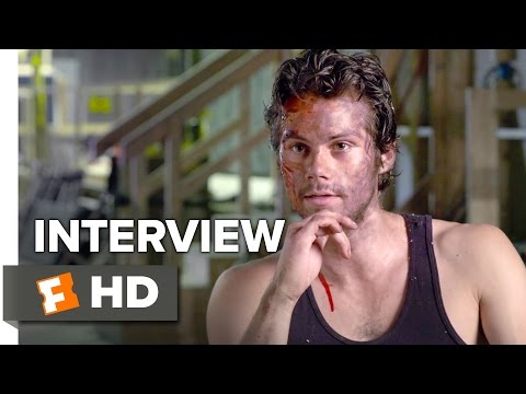 Deepwater Horizon Interview - Dylan O'Brien (2016) - Drama