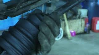 Замена пыльника шруса без снятия шруса