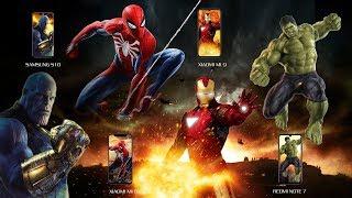 Avengers waterproof competition— Galaxy S10. xiaomi mi 8. xiaomi mi 9. REDMI NOTE 7