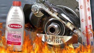 Carlube C2/C3 5W30 Jak skutecznie olej chroni silnik? 100°C