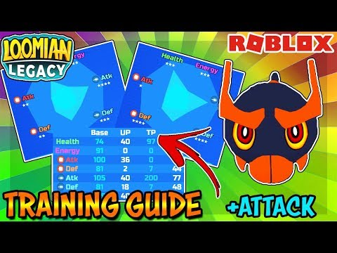 Training Guide - Loomian Legacy (Roblox)   How to TP Train Loomians