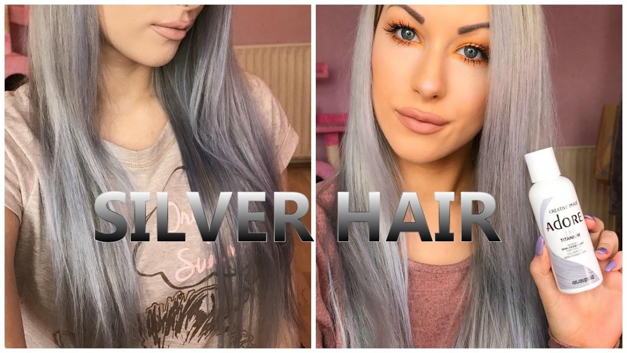 purple shampoos & silver