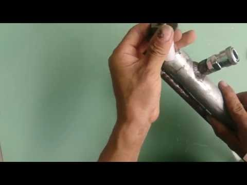 chế súng hơi pcp p16 - chế van nạp một chiều cho súng hơi pcp