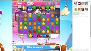 candy crush saga level 1400 no booster 2 stars 43 k pts