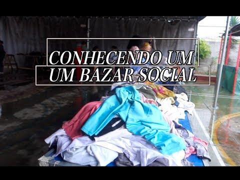 CONHECENDOUM UM BAZAR SOCIAL COM ROUPAS A R$ 2,OO CADA E MINHAS COMPRINHAS