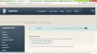 AngularJS end-to-end web app tutorial Part IV