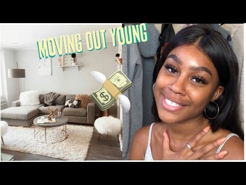 How i moved out at 19 (own house, own car, no help!) thumbnail