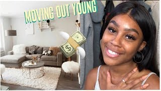 How i moved out at 19 (own house, own car, no help!)