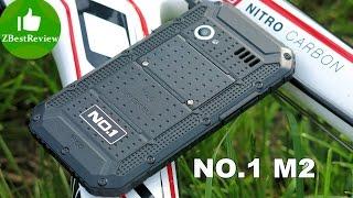 ✔ NO.1 M2 Самый дешевый защищенный смартфон, 93$! Unboxing