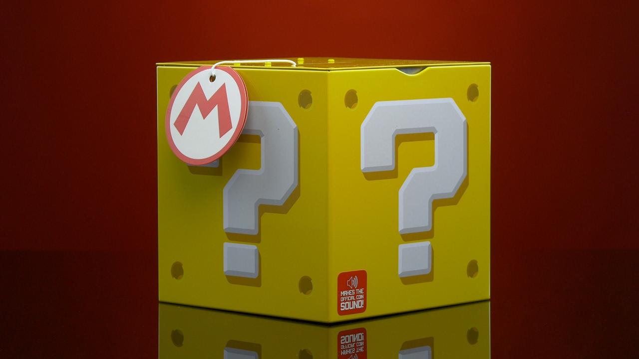 Super Mario™ Question Block Moneybox | Paladone