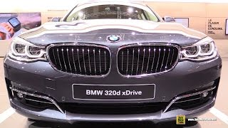 2017 BMW 320d xDrive Gran Turismo Luxury - Exterior and Interior Walkaround - 2016 Paris Motor Show(Welcome to AutoMotoTube!!! On our channel we upload daily, our original, short, Car and Motorcycle walkaround videos. We are specialized in doing coverage ..., 2016-10-26T11:30:02.000Z)