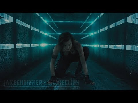 Resident Evil: The Final Chapter |2016| All Fight/Battle Scenes [Edited]