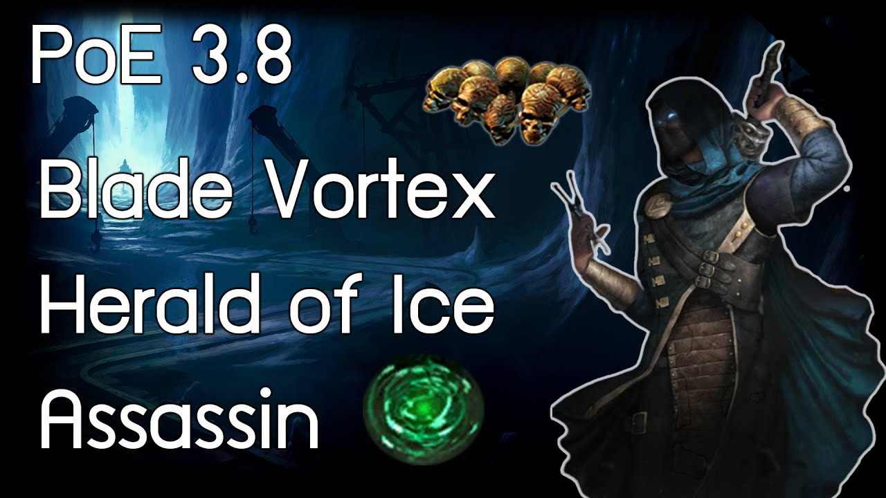 PoE 3 8  T16 Haunted Mansion   Assassin Herald of Ice
