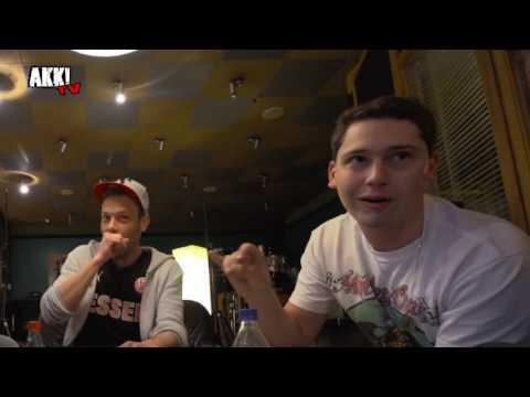 "Akk! TV - Die 257ers & Cris Cab beim Videodreh zu ""Bada Bing"""