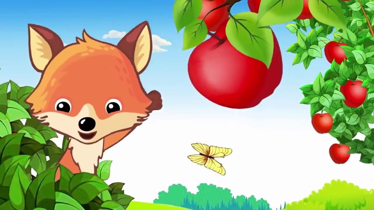Песенка про ягоды и фрукты   Песенки для детей - YouTube