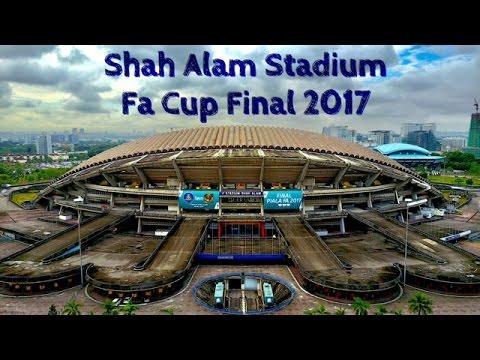 Malaysia Fa Cup Final 2017   Shah Alam Stadium   Pahang (2) vs Kedah (3)   Mavic Pro   4K UHD